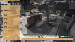 (EN) HAVU vs DreamEaters | map 1 | Loot.bet/CS Season 3 | by @VortexKieran & @skrivcasts