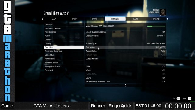 GTAM18 - Grand Theft Auto V All Letters by FingerQuick