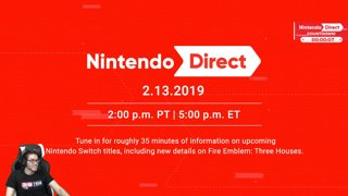 Highlight: FEBRUARY NINTENDO DIRECT WITH COUNTDOWN!!