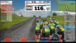 74green - Highlight: Zwift Live! 3R London Loop Hilly Reverse Race