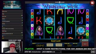 WISHING WELL SUPRISED WITH MEGA LINE HIT!!! - 5€ BET