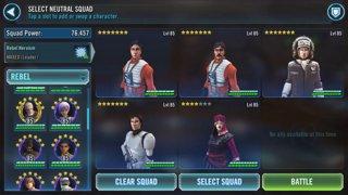 SWGOH Sith Raid Tier 3 Phase 3 Wiggs, zSTHan, Captain Han, Visas Marr