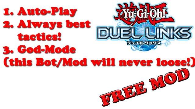 Yu-Gi-Oh! Duel Links MOD APK V2 | Auto Play | Bot |