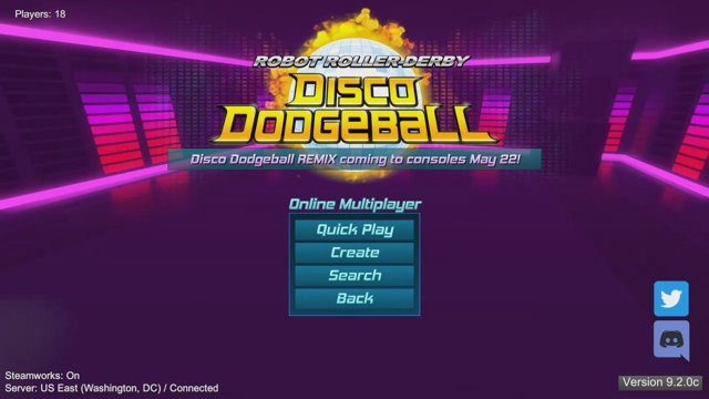 Disco Dodgeball with geoOtter