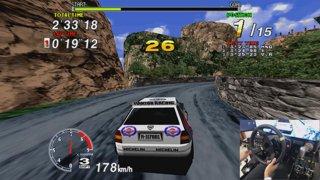 Sega Rally | Sega Model 2 Emulator