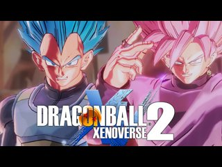 VEGETA SSGSS VS GOKU BLACK SSJ ROSE (BATALHA MORTAL) DRAGON BALL XENOVERSE 2 [PS4]