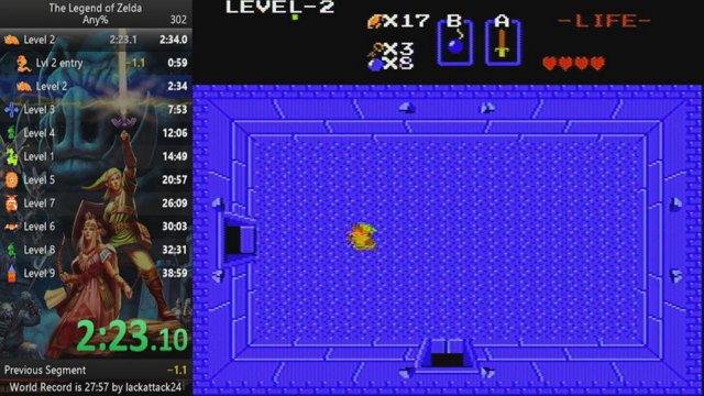 The Legend of Zelda Any% 33:37