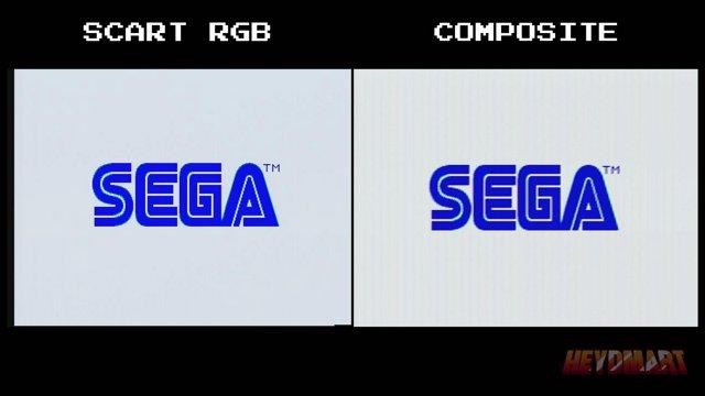 Sonic the Hedgehog - SCART RGB streaming setup vs composite streaming setup