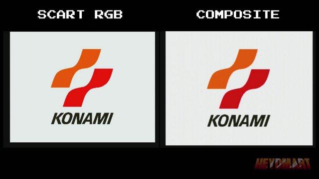 Metal Gear Solid - SCART RGB streaming setup vs composite streaming setup