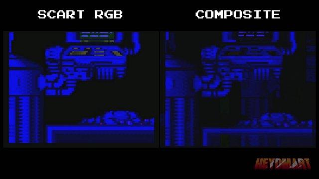 Super Metroid - SCART RGB streaming setup vs composite streaming setup