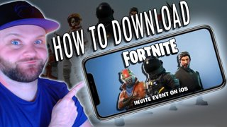 HOW TO DOWNLOAD FORTNITE MOBILE GAME!! IOS & ANDROID PHONE & TABLET APP  BETA INVITE CODE DOWNLOAD