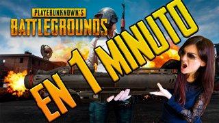 Playerunknown's Battlegrounds (PUBG) EN 1 MINUTO | Cristinini