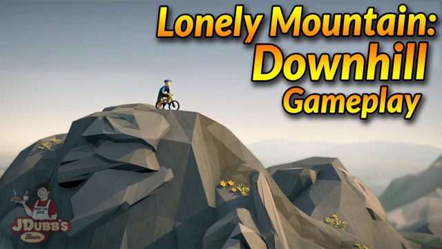 Lonely Mountains: Downhill Early Gameplay