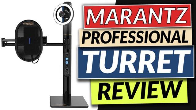 Marantz Professional Turret Review Twitch Reveal!
