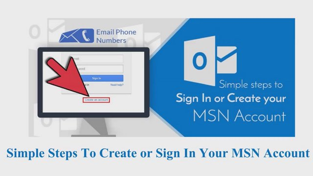 jemsbond017 simple steps to create or sign in your msn account