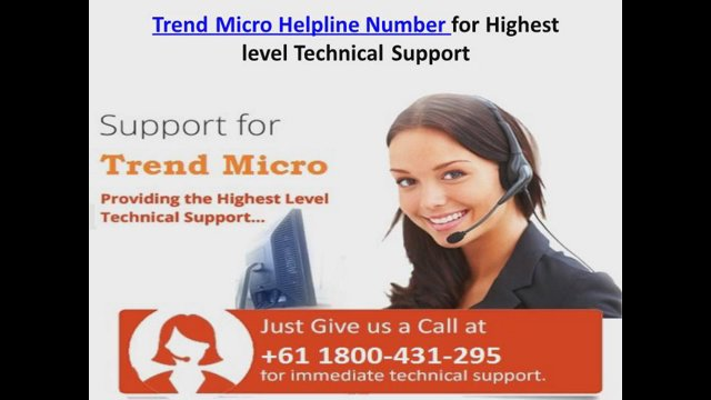 Trend Micro Helpline Number for Highest level Technical Support