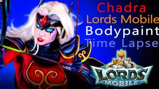 Lords Mobile - Chadra Body Paint Timelapse Tutorial