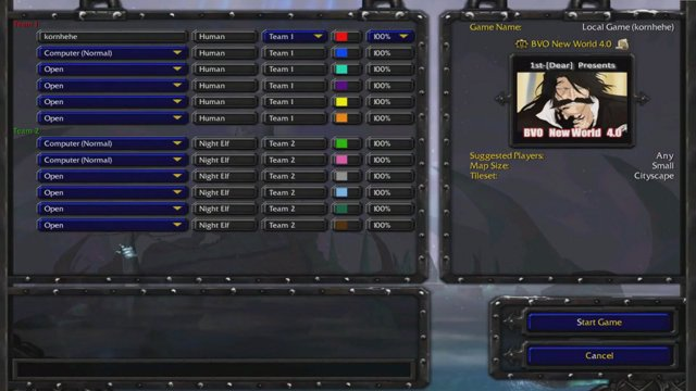 Kornhehehe   Khh   Warcraft III Map Bleach Vs One Piece New World 4.0  โคโยเต้ สตาร์ค   Twitch