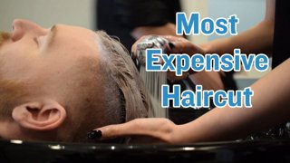 Most Expensive Haircut!