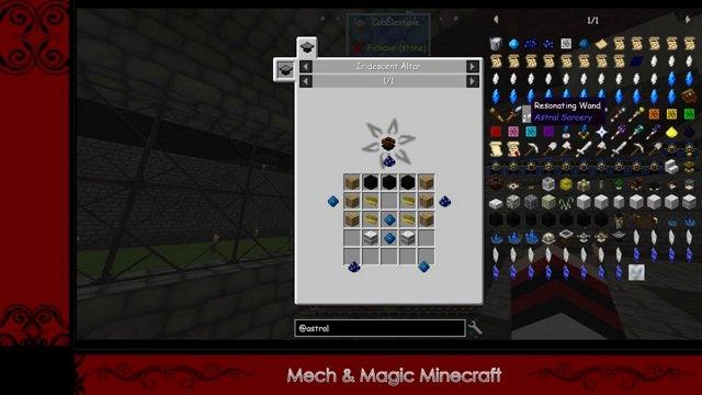 Mech & Magic Minecraft II #20 (Twitch VOD) Basement Hub