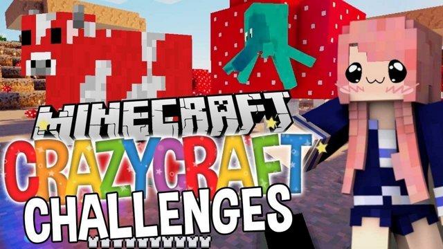 Squidzooka | Ep. 7 | Minecraft Crazycraft Challenges