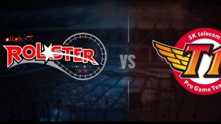 KT vs SKT Highlights Game 1 LCK Spring 2017 W6D3 KT Rolster vs SK Telecom T1