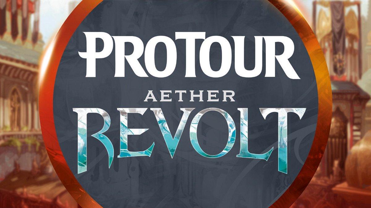 Pro Tour Aether Revolt Round 2 (Draft): Brad Nelson vs. Joel Larsson