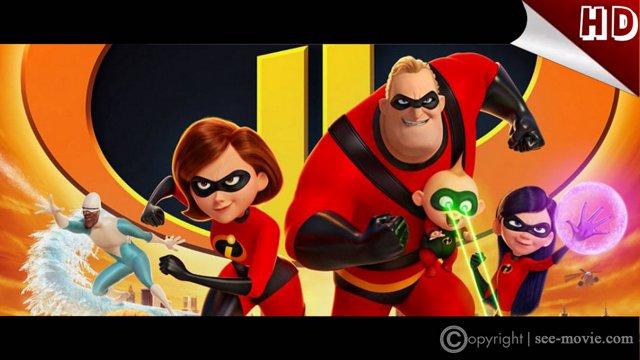 HD-720p]  Incredibles 2 หนังเต็ม - 2018 ออนไลน์ฟรี