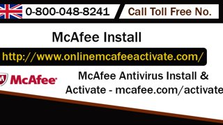 Activate McAfee Retail Card