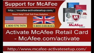 mcafeeactivate - Activate McAfee Retail Card - Twitch