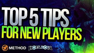 5 KEY TIPS FOR NEW PLAYERS with HOTS Pro Badbenny | Method