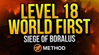 Level 18 WORLD FIRST Mythic+ Siege of Boralus | Method