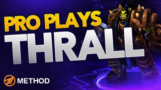 Pro Plays: Thrall HOTS Game play Commentary with Pro Player Method Athero
