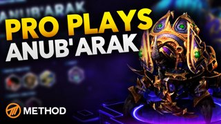 Pro Plays: Anub'arak HOTS Gameplay Commentary with Pro Player Method Athero