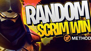 ENTERED A RANDOM SCRIM LOBBY & WON! | Method Fortnite