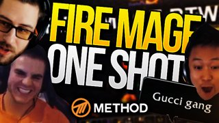 FIRE MAGE #1 | Battle for Azeroth Twitch Clips Highlights | Method