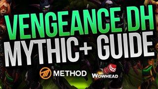 VENGEANCE DEMON HUNTER MYTHIC+ BFA GUIDE | Method