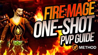 FIRE MAGE PVP ONE SHOT GUIDE with Xaryu | Method