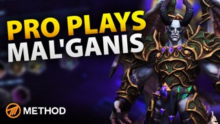 Pro Plays: Mal'ganis HOTS Gameplay Commentary with Pro Player Method Athero