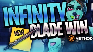 INFINITY BLADE VICTORY *NEW MELEE SWORD WEAPON* | Fortnite Battle Royale Season 7