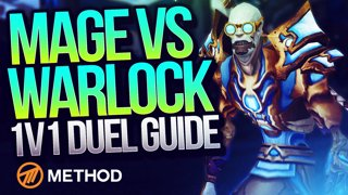MAGE VS WARLOCK (8.1 DUEL GUIDE) with Xaryu | Method
