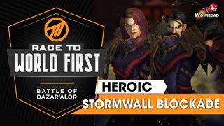 Method VS Stormwall Blockade - Heroic Battle of Dazar'alor