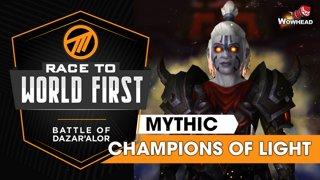Method VS Champion of Light - Mythic Battle of Dazar'alor