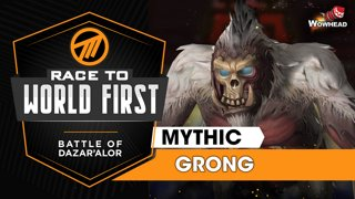 Method VS Grong, the Jungle Lord - Mythic Battle of Dazar'alor