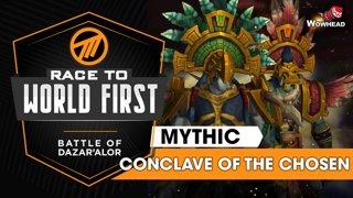Method VS Conclave of the Chosen - Mythic Battle of Dazar'alor