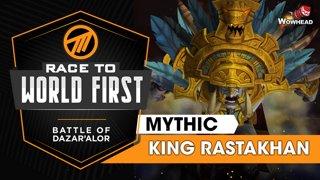 Method VS King Rastakhan - Mythic Battle of Dazar'alor