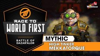 Method VS High Tinker Mekkatorque - Mythic Battle of Dazar'alor