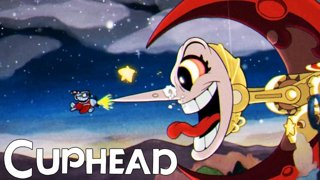 BLUE BALLS AND GETTING MOONED...? | Cuphead Part 2