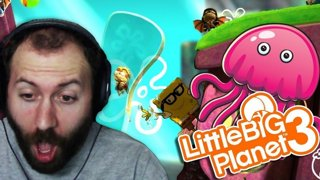 FUNNY FUNNY FAILS | Little Big Planet 3 (PS4) Multiplayer Gameplay
