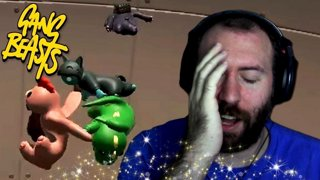 A BAD FAN EXPERIENCE | Gang Beasts Online Funny Moments Part 31